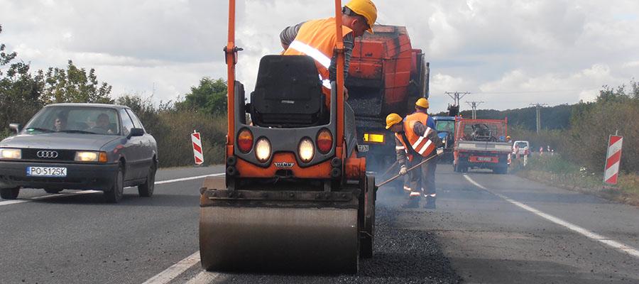 Remonty masą asfaltową